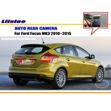 Cheap Car Rear View Camera / Back Up Reverse Parking Camera For Ford Focus MK3 2012~2014 License Plate Lamp / HD CCD Night Vision