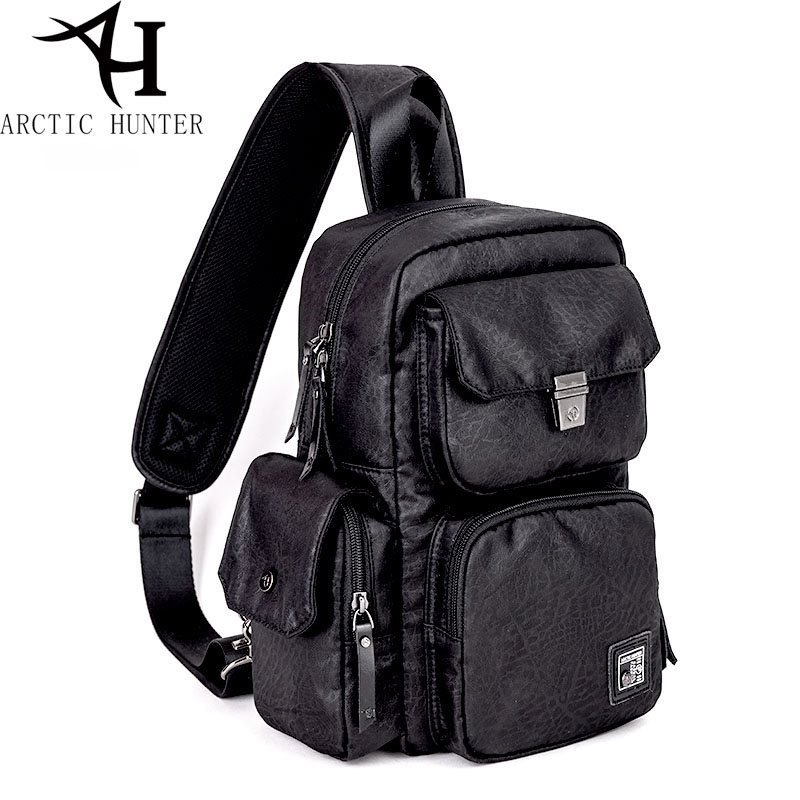 ARCTIC HUNTER Multifunction Large capacity Chest Bag Male&Female Casual Crossbody Bag For Men Short Trip Waterproof Gift arctic hunter 2018 large capacity fashion casual preppy style shoulder bag chest bag waterproof travel bags gift ship from ru