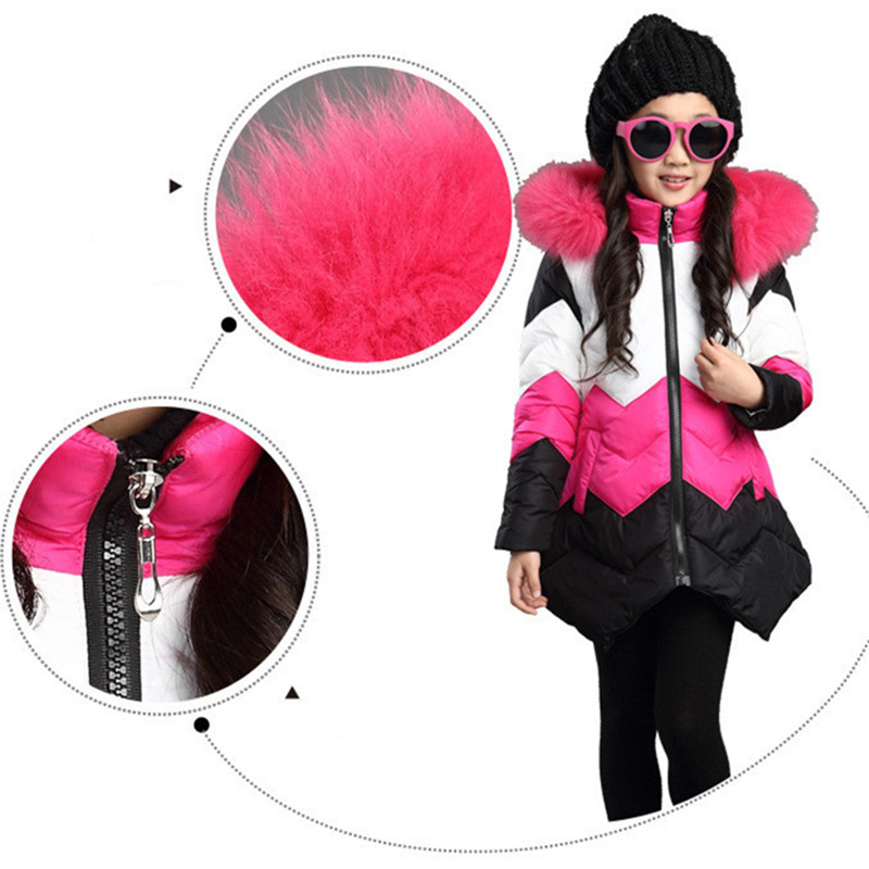 Nice Winter Children Girls Warmly Jackets For Kids Coats Warm Cotton Outerwear Coat For Girls Teenagers Clothing 5 6 10 12 YearsNice Winter Children Girls Warmly Jackets For Kids Coats Warm Cotton Outerwear Coat For Girls Teenagers Clothing 5 6 10 12 Years