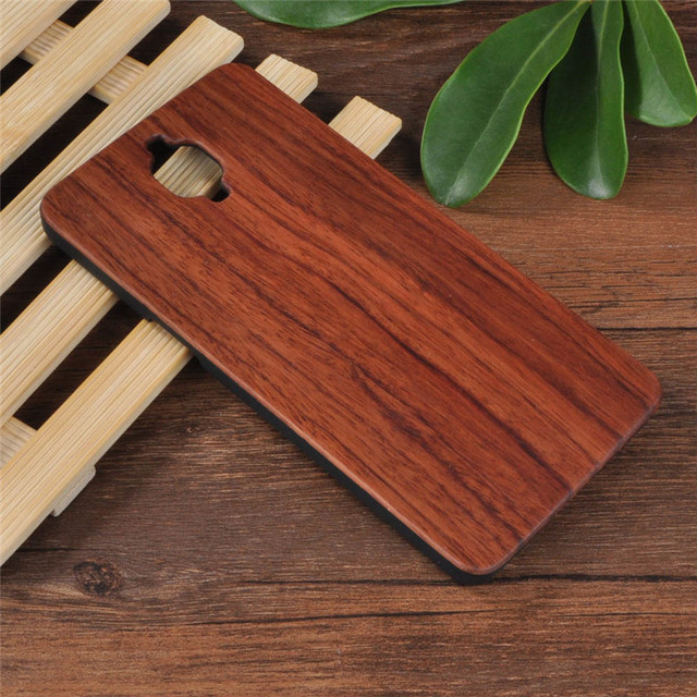 Wood Case For One Plus Three 3 A3003 Rosewood Case For Oneplus 3 3t Wooden Case + PC Naturel Wooden Back Shell Phone Cover