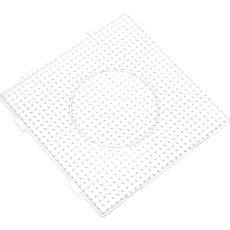 3pcsset 145x145cm bead pegboard square shape hama beads 3pcsset 145x145cm bead pegboard square shape hama beadsdiameter 15cm circlehexagon puzzle template for 5mm perler beads toy in puzzles from toys pronofoot35fo Choice Image