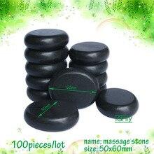 wholesale 8 pcs/lot Hot Stone Therapy Power Stone Rock stone massage body stone/ size 5*6cm недорго, оригинальная цена