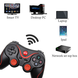 Image 3 - Wireless Bluetooth 3.0 Android Gamepad T3/X3 Game Controller Gaming Remote Control For Win 7/8/10 For Smart Phone Tablet TV Box
