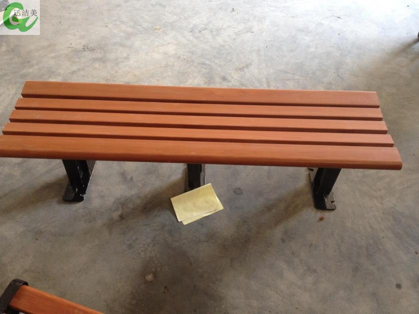 Park Chairs Outdoor Synthetic Wood Bench Seat Pvc Cast