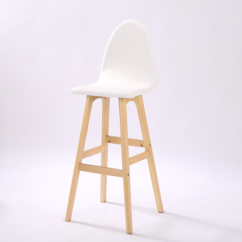 white color bar chair free shipping home computer stool restaurant PU leather chair 240337 ergonomic chair quality pu wheel household office chair computer chair 3d thick cushion high breathable mesh
