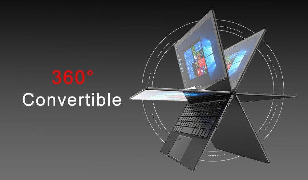 11.6 inch 2 in 1 convertible touch screen Netbook 8GB RAM 1920X1080 IPS Screen 192GB dual band wifi iTSOHOO 360 degree laptop 9