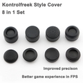Kontrolfreek Style FPS ThumbStick Grip Caps Extra High Enhancement Cover For Sony PlayStation 3/4 PS3 PS4 Xbox 360 Controller