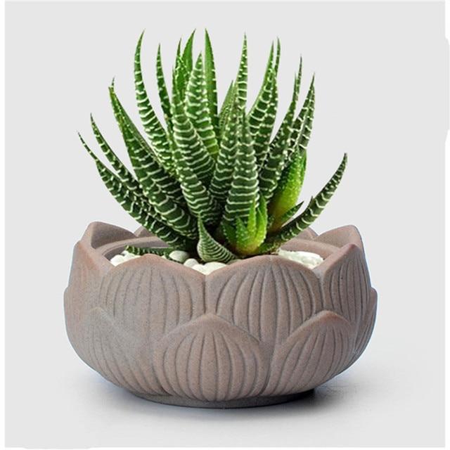 Buy Small Lotus Ceramic Garden Supplies