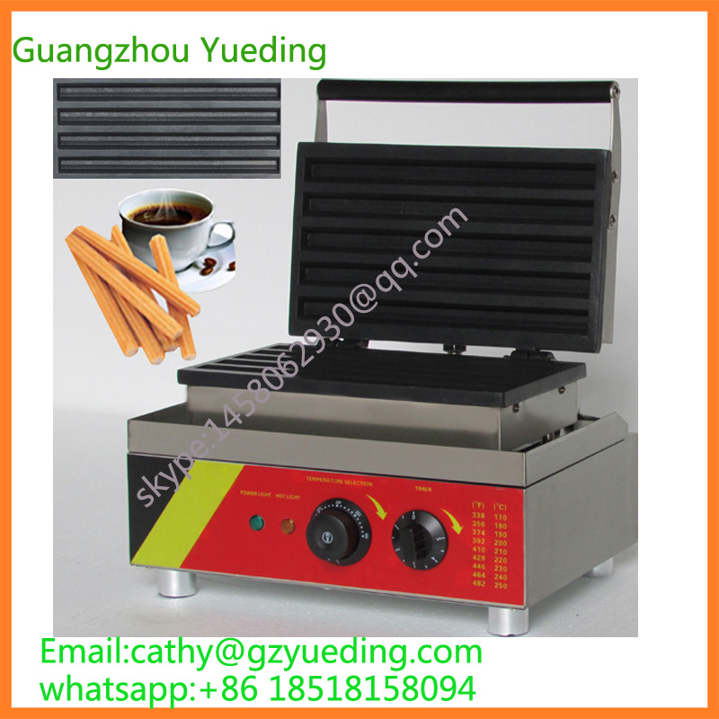 Churros machine Electric churros making machine spain latin fruit baked machine fried dough machine 12l electric automatic spain churros machine fried bread stick making machines spanish snacks latin fruit maker