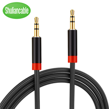 Shuliancable 3.5mm audio cable Jack 3.5 mm Male to Male Audio Aux Cabl