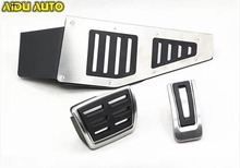 FOR VW RHD Golf 7 MK7 VII Stainless Steel Automatic AT MT Pedal