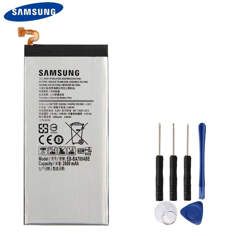 Samsung Battery EB-BA700ABE Original for Galaxy 2600mah
