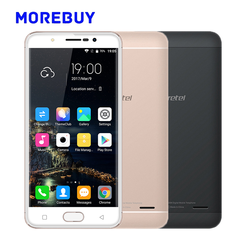 Gretel A9 Fingerprint Mobile Phones MT6737 Quad Core 1.25GHz 16G ROM 2G RAM Android 6.0 Smartphone 8.0MP 5.0 Inch 4G Cellphone