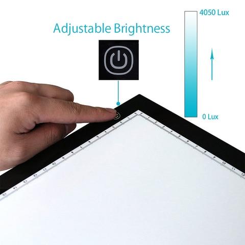 New Huion A3 Led Light Pad Acrylic Panels Professional Tattoo Light Pad Cartooning Light Boxes Handwriting LED Tracing Boards Karachi