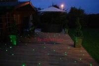 DIY kit de fibra óptica de luz led de luz con motor de fibra óptica estrella cielo luz de techo 32W RGB control remoto IR 500 Uds mezcla fibra