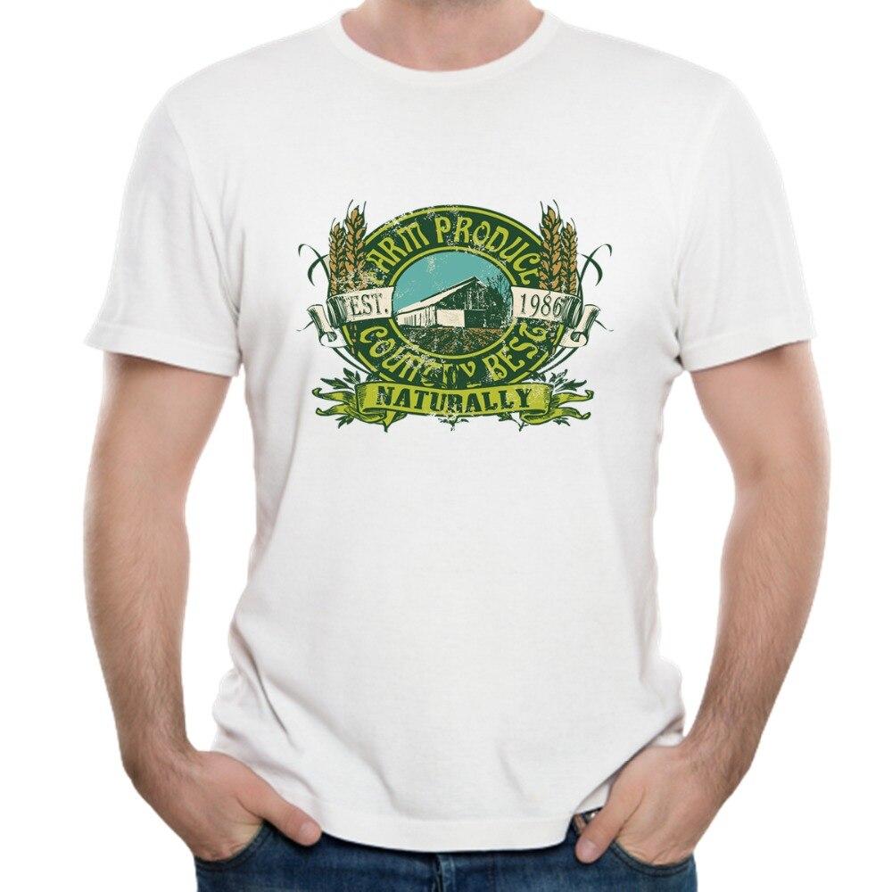 Reminiscence Country Best Naturally 3D T Shirt Print 100% Pure Cotton Men Short Sleeved Summer O-neck Mens Shirt XIECON