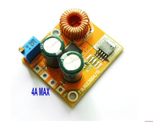 Buck module 4A the current ultra 2596DC-DC adjustable