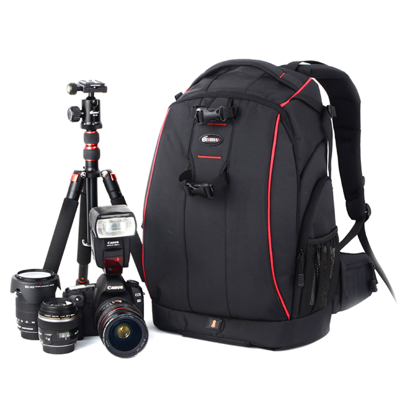 hot sale Anti-theft eirmai professional slr double-shoulder camera bag EIRMAI D2330 casual digital slr bag the big bag new media and domestic tourism promotion in kenya