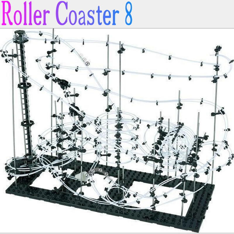 space warp spacerail New Space Raill Funny Building Kit Roller Coaster Toys SpaceRail Level 8, DIY Spacewarp Erector Set high quality new space rail funny model building kit rollercoaster toys spacerail level 9 diy spacewarp erector set 70000mm