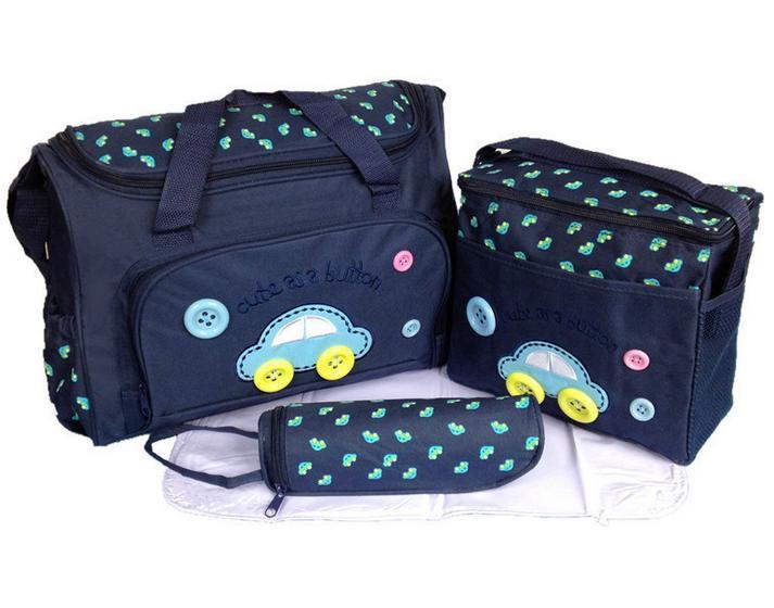 Liela ietilpība bērnu autiņbiksīšu soma Ceļojuma mugursoma autiņbiksīšu maiņa Bērnu ratiņu soma Organizators Māmiņa Mātes maternitātes bērnu māsu maisiņš