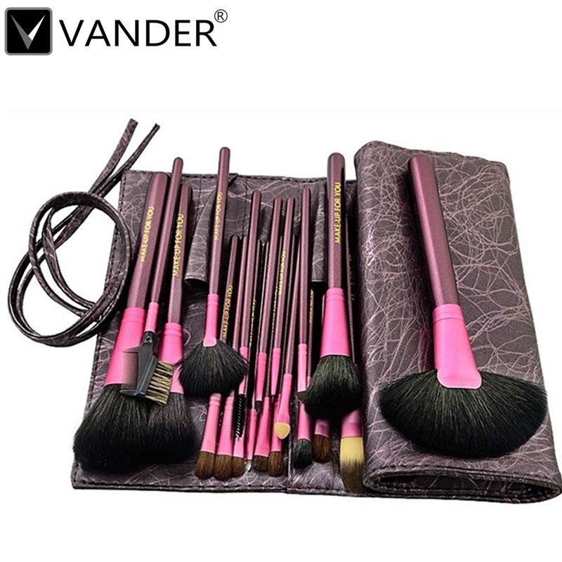 High Quality 20Pcs/set Pro Foundation Makeup brushes Powder Eyeshadow Eyeliner Lip Concealer Eyelash Blending Brush Set