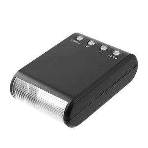Image 2 - אוניברסלי תואם מיני LED מצלמה פלאש Speedlite חיצוני Protable פנס 8899