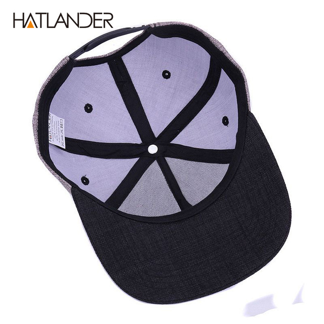 5d6df6ca76f HATLANDER Quality Street Style Snapback Men Cap • PTS Men s Accessories