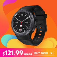 2018 Zeblaze Тор 4 4G LTE gps Wi Fi Android смартфон часы 1 ГБ + ГБ 16 5MP камера фитнес трекер Smartwatch для мужчин спортивные флагман