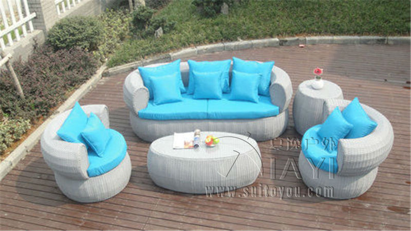 5-pcs new design hotel rattan sofa Pastoralism Home Indoor / Outdoor Rattan Sofa For Living Room pastoralism and agriculture pennar basin india