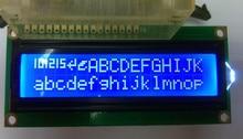 ЖК-дисплей 1602 16×2 1602 Модуль ЖК-дисплей с РОССИЙСКИЕ кириллицы шрифт характер 5 В синий 2 шт. Бесплатная доставка
