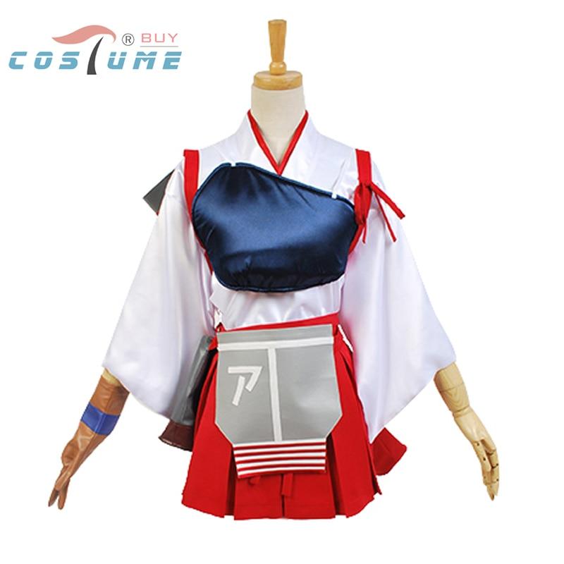 Kantai Collection KanColle Japanese Akagi Cosplay Costumes For Women Anime Halloween Costumes