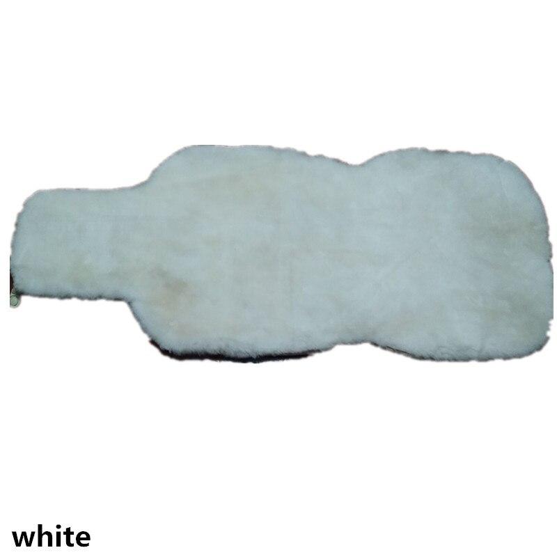 OKAYDA Araba Koltuğu Kapağı tam kürk gerçek kısa koyun derisi - Araç Içi Aksesuarları - Fotoğraf 5