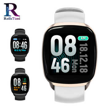 RollsTimi Women Smart Watches IP67 Waterproof Heart Rate Wristband Fitness Tracker Sports Wrist Watch Men Smartwatch IOS Android - DISCOUNT ITEM  80% OFF All Category