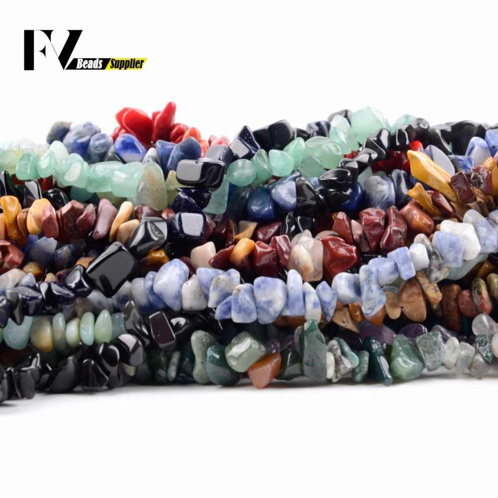 5mm-8mm Natürliche Amethysten Chips Perlen Zubehör Für Hand Schmuck Machen 15 zoll Kies Unregelmäßigen Perlen Diy armbänder