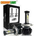 12000LM Super Bright Car LED Headlight Kit H4 HB2 9003 H13 9007 w/ Cree Chips Replace Bulb Anti-Dazzle Beam 3000K 4300K 6000K
