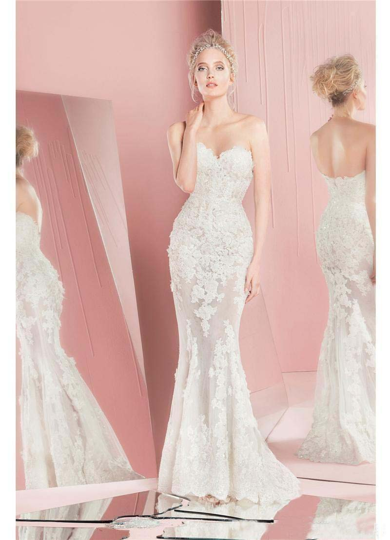 Modest Zuhair Murad Detachable Wedding Dresses with Lace Long ...