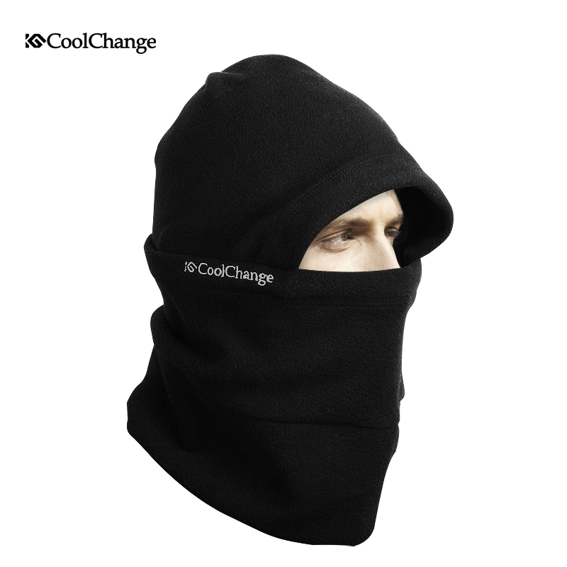 CoolChang Winter Cycling Mask Outdoor Riding Sport Cap Bike Mask Warm Fleece Protecting Wind Stopper Full Face Bicycle Mask jaisati winter outdoor riding windproof cap fleece hood cs hat mask thick warm snow cap dust mask