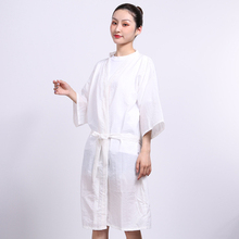 Hairdressing guest robe, hair cutting and salon, high-grade dyeing customer clothing, beauty salon dressing gown