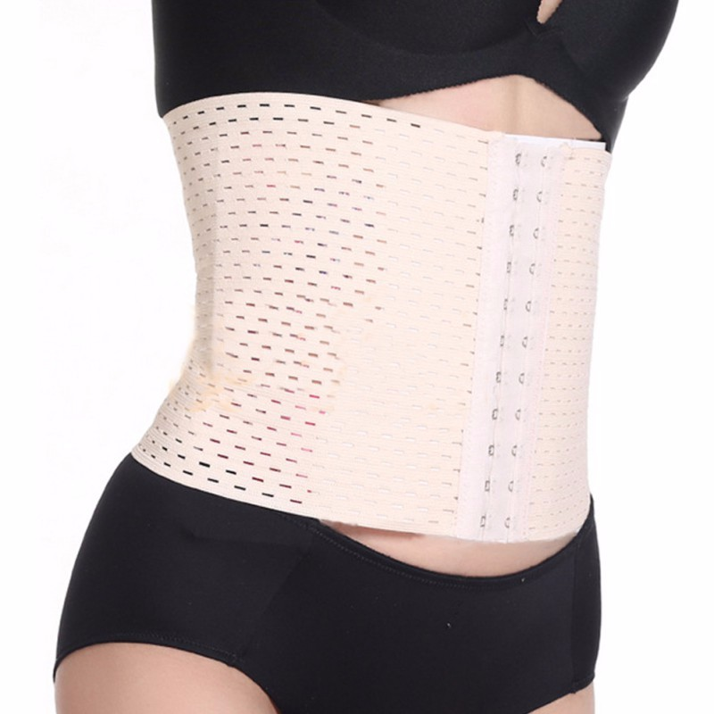 Women Waist Support Breathable Mesh Health Care Lumbar Support High Elastic Back Support Self heating Bodybuilding Belts hot in Waist Support from Sports Entertainment