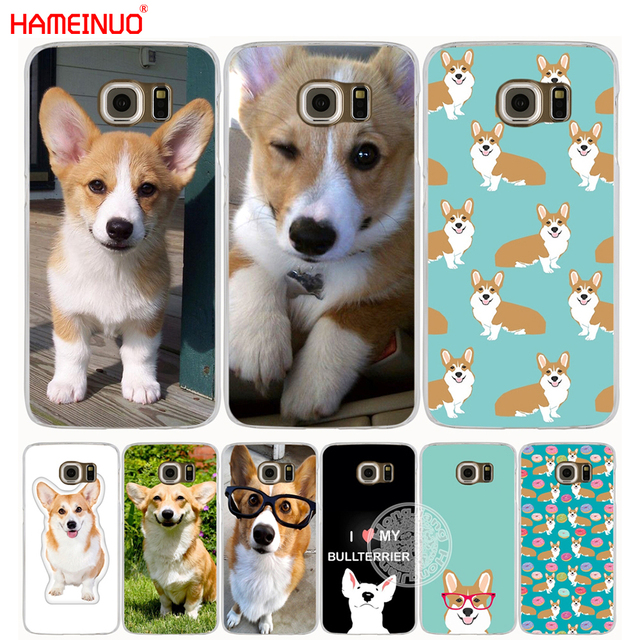 classic fit 458f6 b73d8 US $1.99 32% OFF|HAMEINUO pembroke welsh corgi puppies cell phone case  cover for Samsung Galaxy S7 edge PLUS S8 S6 S5 S4 S3 MINI-in Half-wrapped  Case ...