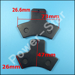 Rear Right Brake Pads LINHAI 250cc 260cc 300cc ATV Quad 4 x 4 Drive