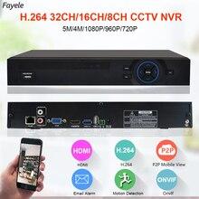CCTV Security 8CH 16CH HD IP 1080P 5MP 4MP NVR 1.2U 2 SATA Port Hi3535 Processor 3G WIFI 32CH Surveillance Video Recorder Onvif