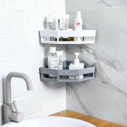 ホット浴室コーナー棚シャンプーホルダーキッチン収納ラック混乱主催壁ホルダースペースセーバー家庭用品