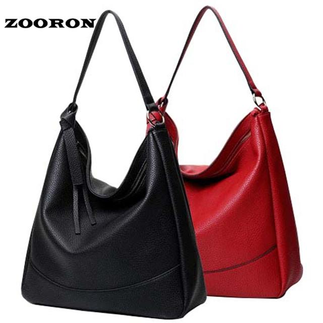 Mulheres Estilo Coreano Nova Bolsa De Couro PU Feminino bolsa de Ombro Único Sacos Senhoras Sacos de Grande Capacidade de Alta Qualidade