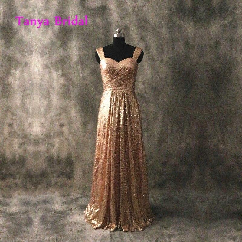 Bronze Bridesmaid Dresses