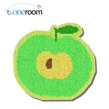 ZD058 зеленое яблоко Oneroom Крюк Ковер Комплект DIY Неоконченная Крючком Пряжи Мат Защелка Комплект Крюк Ковер Пола