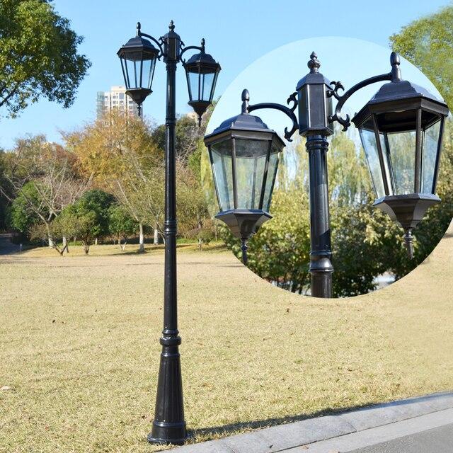Western Style Landscape Garden Lights Outdoor D Cell Park
