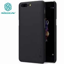 Oneplus 3 case NILLKIN Super Frosted Shield hard back cover for Oneplus 3 Oneplus3 A3000 with free screen protector