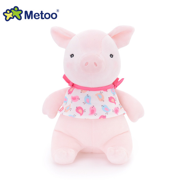 1Pcs Pig 8 Inch Kawaii Plush Stuffed Animal Cartoon Kids Toys for Girls Children Baby Birthday  Gift Pig Metoo Doll