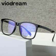Visonho super luz proteção contra radiação computador óculos de plástico titânio unissex óculos armação armação de óculos de grau para
